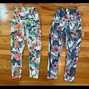 Evolution and Creation Leggings Lot of 2!!